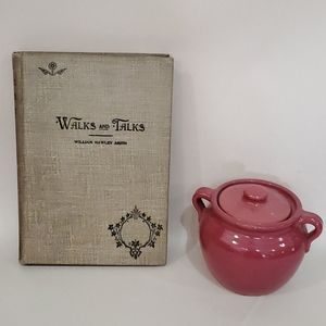 Vintage Gray Book Walks and Talks Smith 1893